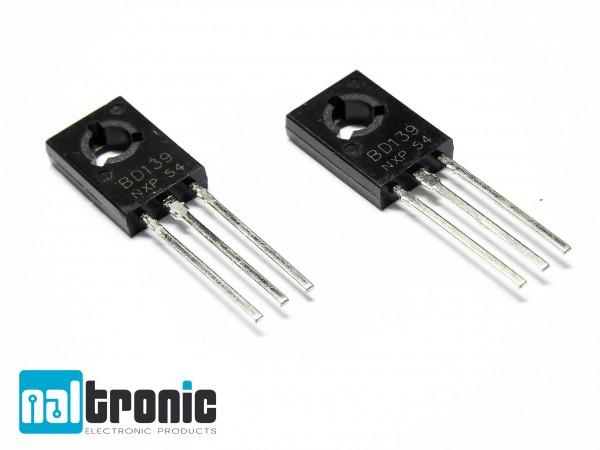 BD139 NPN Transistor TO-126 80V 1,5A TO126 - 10 oder 20 Stück zur Auswahl