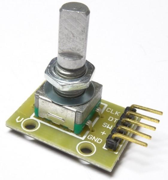 Drehgeber Drehregler Rotary Encoder Modul KY-040 für Arduino 33
