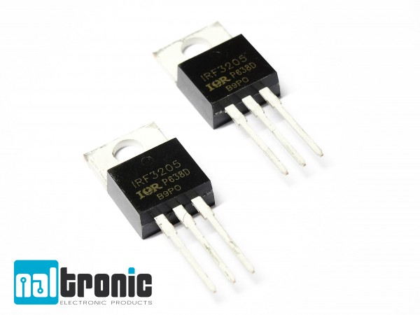 1x 5x IRF3205 IRF3205PBF IRF3205N MOSFET TO220 N-Kanal 55V 110A 200W