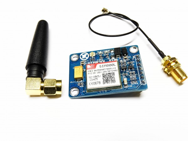 SIM800L GSM GPRS MODUL Quad-Band Quad mit Antenne 850 900 1800 1900MHz