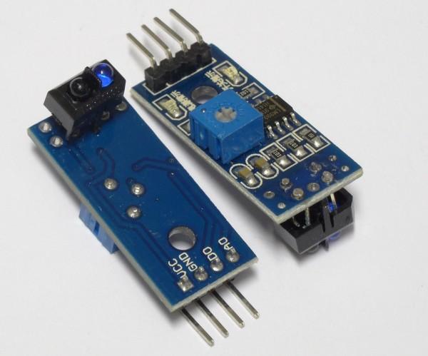 TCRT5000 Reflektierende IR Lichtschranke Modul für Arduino Sensor 5