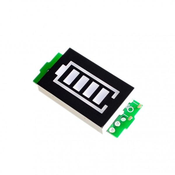 1S 2S 3S 4S 6S 7S Batterie Status Anzeige Ladeanzeige Batteriestatus Voltmeter