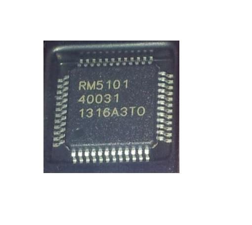 RM5101 LCD Chip IC für T-CON Board im T-QFP-48 Gehäuse QFP48 LCD TV Chip RM5101