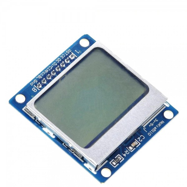 84x48 LCD Display PCD8544 Modul für Nokia 5110 Display Arduino Raspberry Pi