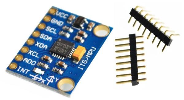 MPU-6050 GY-521 3-Achsen Gyroskop Accelerometer Kreisel Board Sensor Arduino 41