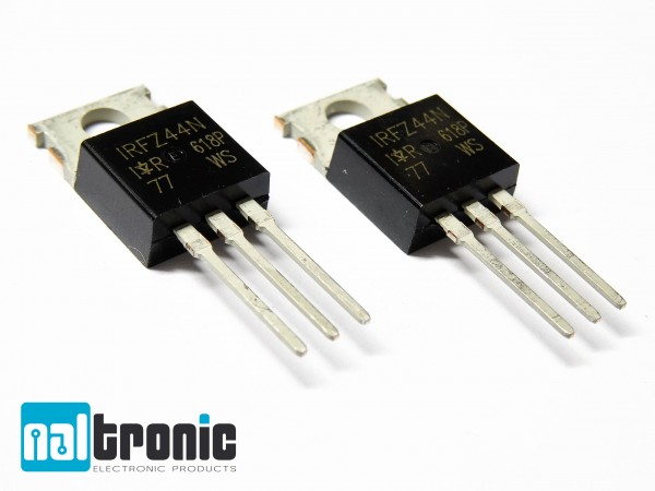 IRFZ44N MOSFET TO220 N-Kanal 55V 49A