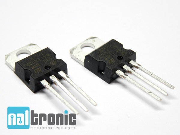 LM317 LM317T TO-220 Spannungsregler 2,2V - 37V 1,5A Voltage Regulator TO220