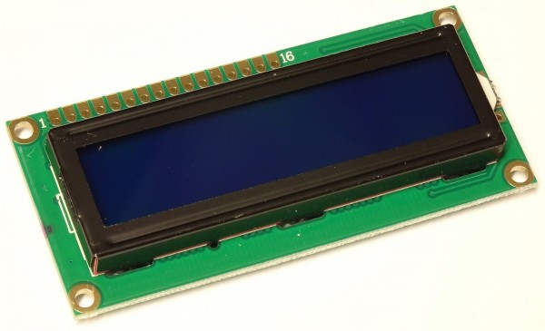 1602 LCD Display Character 16x2 weiß blau KS0066U 140