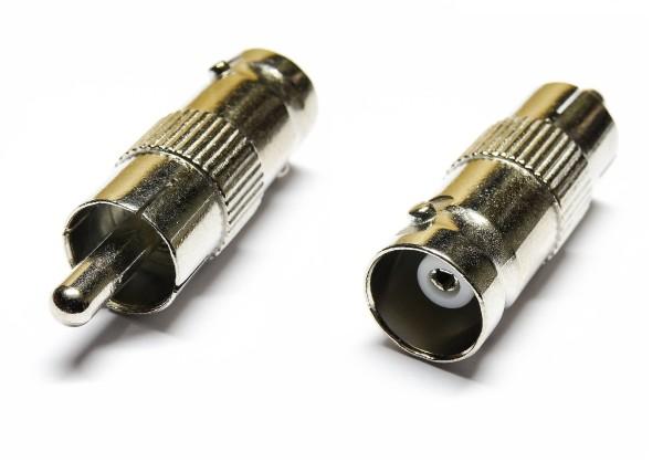 BNC Stecker auf Buchse Adapter Verlängerung RG6 RG59 Adapter Coaxial Kupplung