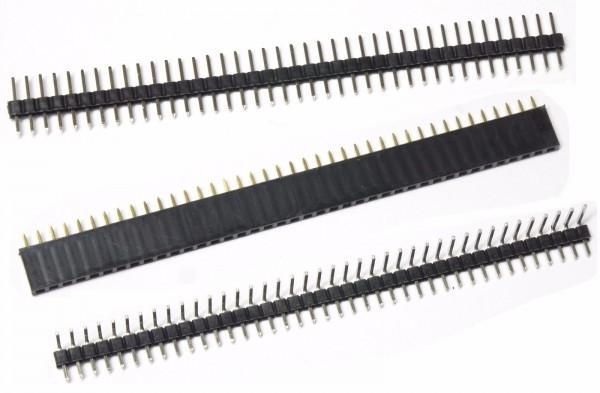 10x 40pin Stiftleiste Buchsenleiste 2,54mm 2.00mm 40 Pin Steckerleiste e01