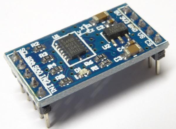 ADXL345 Beschleunigungssensor Modul Accelerometer I2C SPI Board für Arduino 35