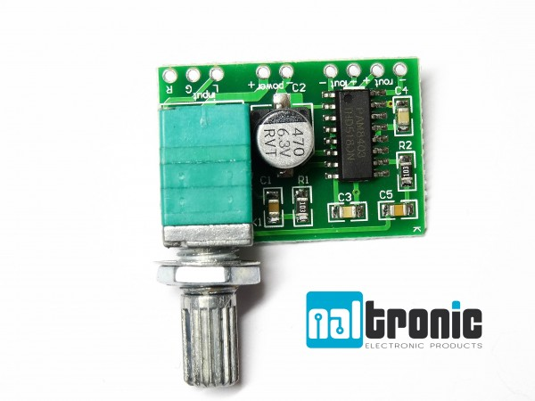 PAM8403 Digitale Verstärkerplatine GF1002 2x3 Watt 5VDC