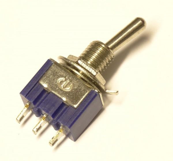 1x 5x Kippschalter Miniatur Schalter Switch ON/ON 6A Einbauschalter Switch AC 18