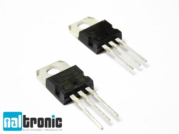 L7805CV L7805 LM7805 Spannungsregler 5V 1,5A