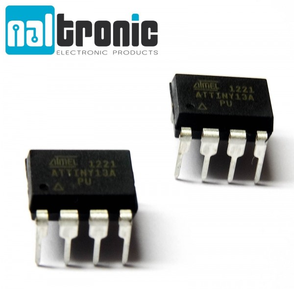 ATTINY13A ATTINY13A-PU 20MHz 8Bit Mikrocontroller MCU 1Kb Memory Flash DIP8 A32