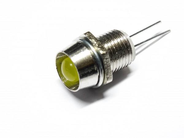 10 Stück | 30 Stück Leuchtdiode 5mm LED Halter Sockel Befestigung Fassung Metall
