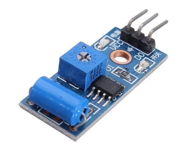 Vibration Alarm Sensor Modul Schalter SW-420 3,3-5V LM393 Arduino-kompatibel 40