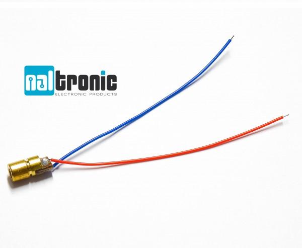 1x 10x 6mm 3V 5mW 650nm Laser Diode Modul Kabel