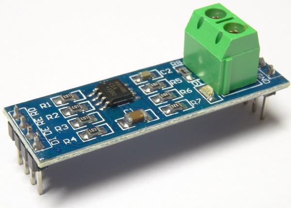 MAX485 Modul RS-485 TTL auf RS485 Schnittstelle Adapter AVR Arduino 24