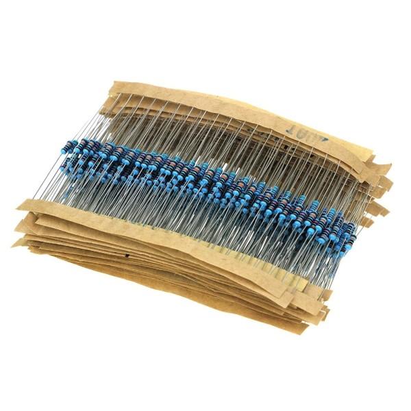 300 Stück Metall Film Resistor Widerstände Widerstand Set 30x10 Stück 10 - 1MOhm