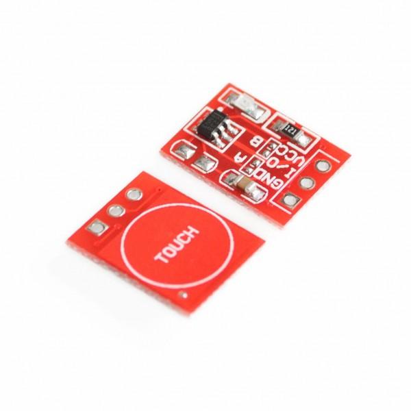 1-10 Stück TTP223 Touch Sensor Modul Kapazitiv Capacitive Sensor für Arduino