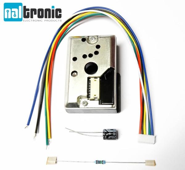 Sharp GP2Y1010AU0F optischer Staubsensor Feinstaub Sensor für Arduino