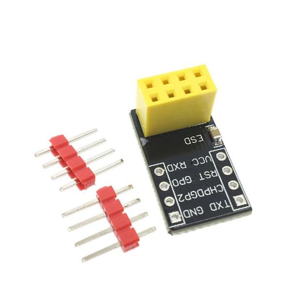 ESP8266 ESP-01 Serial Breadboard Adapter Board ESP-01S Breakout Modul Steckbrett