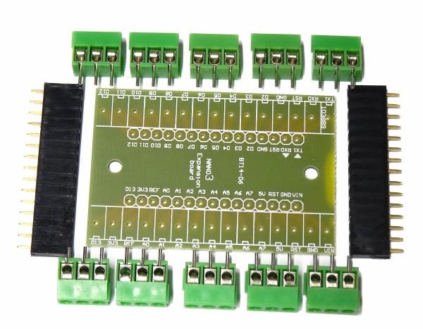 Arduino Nano 3 Expansion Terminal Adapter Board Modul Bausatz