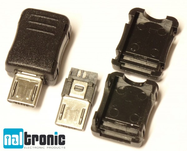 Micro USB Steckverbindung 5 Pin zum Löten 65
